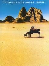 Popular Piano Solos Book 1 - Piano Solo
