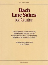 Bach Lute Suites For Guitar - Guitar