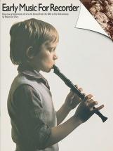 FLUTE A BEC Renaissance : Livres de partitions de musique