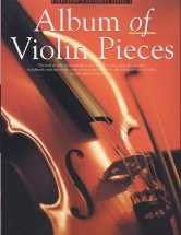 Album Of Violin Pieces Violin And Piano- Violin