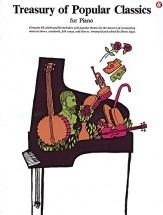 Agay Denes - Treasury Of Popular Classics- Piano Solo