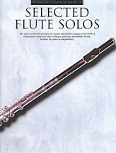 Selected Flute Solos With Piano Accompaniment - Flute