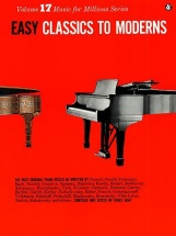 Easy Classics To Moderns - Piano Solo
