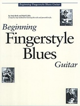 Beginning Fingerstyle Blues Guitar + Cd - Guitar