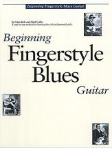 Beginning Fingerstyle Blues Guitar + Cd - Guitar