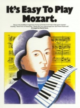 It's Easy To Play Mozart - Piano Solo