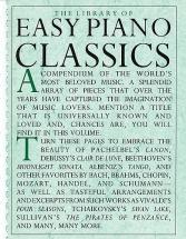 The Library Of Easy Piano Classics Pf B00k - Piano Solo