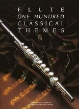 100 Classical Themes For Flute - Flute