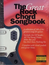 The Great Rock Chord Songbook - Lyrics And Chords