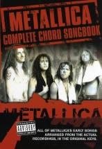 Metallica Chord Songbook Vol.1 : The Early Years - Voix, Guitare