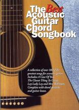 The Best Acoustic Guitar Chord Songbook - Guitare