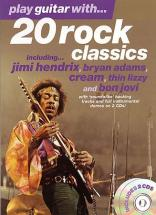 Play Guitar With... 20 Rock Classics +cd