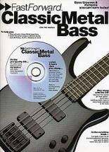 Fast Forward Classic Metal + Cd - Bass Guitar Tab