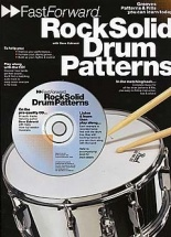 Fast Forward Rock Solid Drum Patterns + Cd - Drums