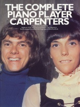Carpenters The - The Complete Piano Player - Pvg