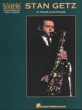 Stan Getz Artist Transcriptions For Tenor Saxophone