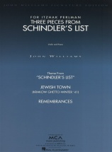 John Williams Three Pieces From Schindler