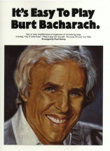 It's Easy To Play Burt Bacharach - Pvg