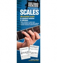 Gig Bag Book Of Scales For All Guitarists - Guitar Tab