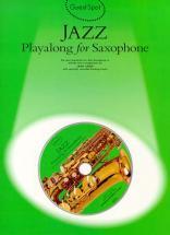 Guest Spot Avec Cd : Jazz Pour Saxophone
