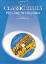 Guest Spot Classic Blues Sax Alto Cd