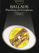 Guest Spot -  Ballads + Cd - Saxophone Alto