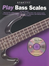 Step One Play Bass Scales Btab + Cd - Bass Guitar