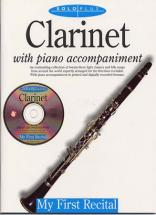 Solo Plus - First Recital Clarinet + Cd