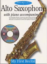 Solo Plus - First Recital Sax Alto + Cd