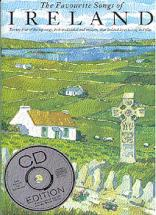 Favourite Songs Of Ireland + Cd - Chant, Guitare