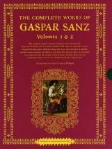 Complete Works Of Gaspar Sanz Bkslpcse - Guitar