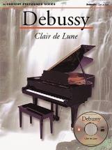 Debussy - Clair De Lune - Concert Performer Series + Cd - Piano Solo