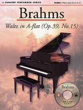 Brahms Johannes - Brahms - Waltz In A Flat - Concert Performer Series - Piano Solo