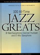 100 Alltime Jazz Greats - Bb&eb Instruments