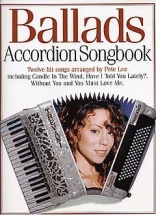 Ballads Accordion Songbook - Accordion