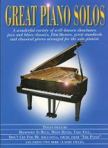 Great  Piano Solos - Blue Book