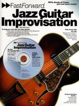 Fast Forward Jazz Guitar Improvisation + Cd - Guitar