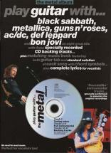 Play Guitar With - Metal Album + Cd - Guitar Tab