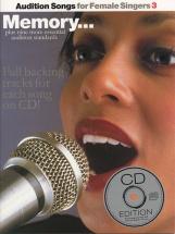Audition Songs For Female Singers 3 + Cd - Pvg