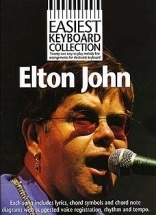 Easiest Keyboard Collection Elton John - Melody Line, Lyrics And Chords