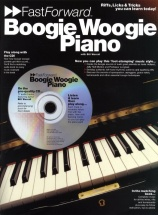 Worrall Bill - Fast Forward - Boogie Woogie + Cd - Piano