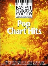Easiest Keyboard Collection Pop Chart Hits Melody Lyrics Chords- Melody Line, Lyrics And Chords