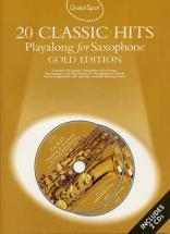Guest Spot Avec Cd : Gold Edition : 20 Classic Hits  (2 Cd) Pour Saxophone