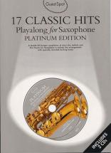 Guest Spot Avec Cd : 17 Hits Platinum Edition Pour Saxophone