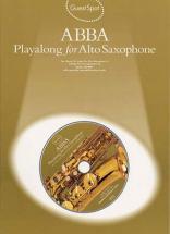 Guest Spot - Abba + Cd - Saxophone Alto