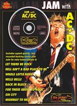 Ac/dc - Jam With + Cd - Guitar Tab