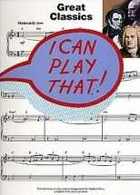 Duro Stephen - I Can Play That! Great Classics - Piano Solo