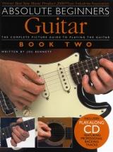 Absolute Beginners Guitar Book Two + Cd - Guitar