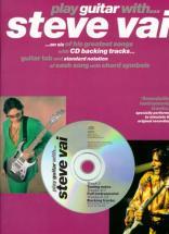 Vai Steve - Play Guitar With + Cd - Guitar Tab