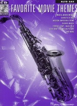 Favorite Movie Themes For + Cd - Alto Saxophone